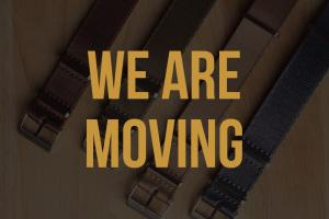 We're moving!