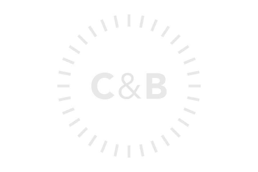 Charcoal Braided Nylon - 22mm Perlon