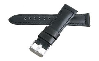 Habitue - 22mm Black Calf