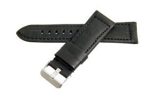 Habitue - 24mm Black Calf