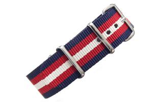 Navy/Red/Cream NATO - 20mm