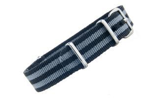 Black & Grey NATO - 16mm