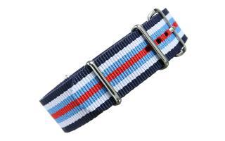 Navy/White/Blue/Red NATO - 20mm