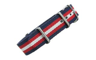 Navy/Red/Cream NATO - 16mm