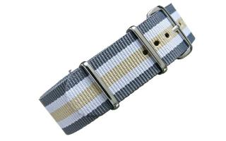 Grey/White/Sand NATO - 22mm
