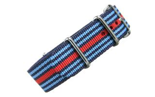 Navy/Blue/Red NATO - 20mm