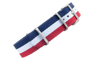 Red/White/Blue NATO - 18mm