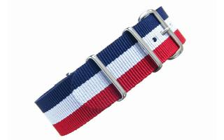 Red/White/Blue NATO - 22mm