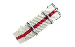 Sand & Red NATO - 20mm