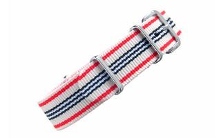 Cream Multi Stripe NATO - 18mm