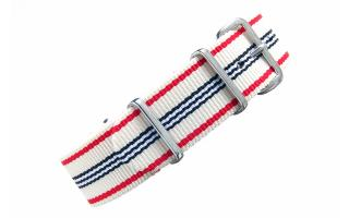 Cream Multi Stripe NATO - 20mm