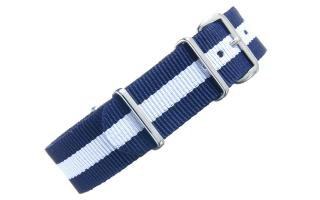 Navy & White NATO - 18mm