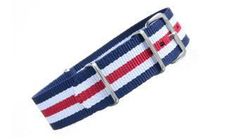 Navy/White/Red NATO - 20mm