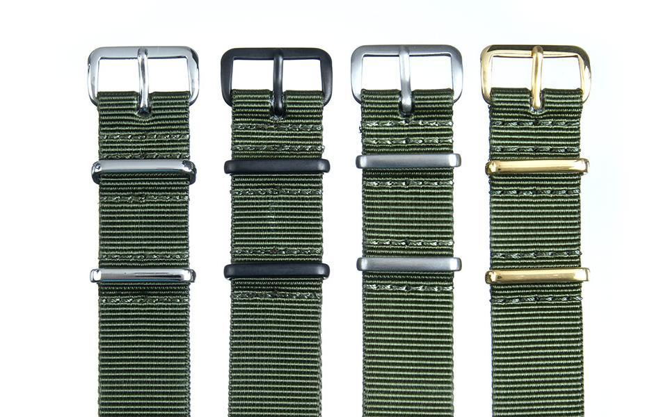 Olive Premium NATO - 18mm