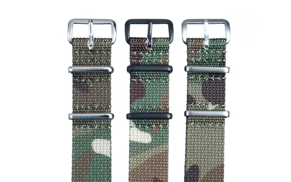 Green Camo Premium NATO - 18mm