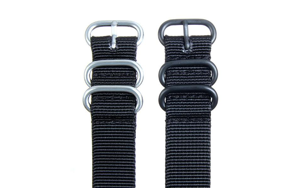 Black HD NATO - 20mm Ballistic Nylon