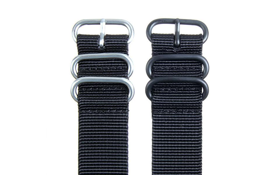 Black HD NATO - 24mm Ballistic Nylon