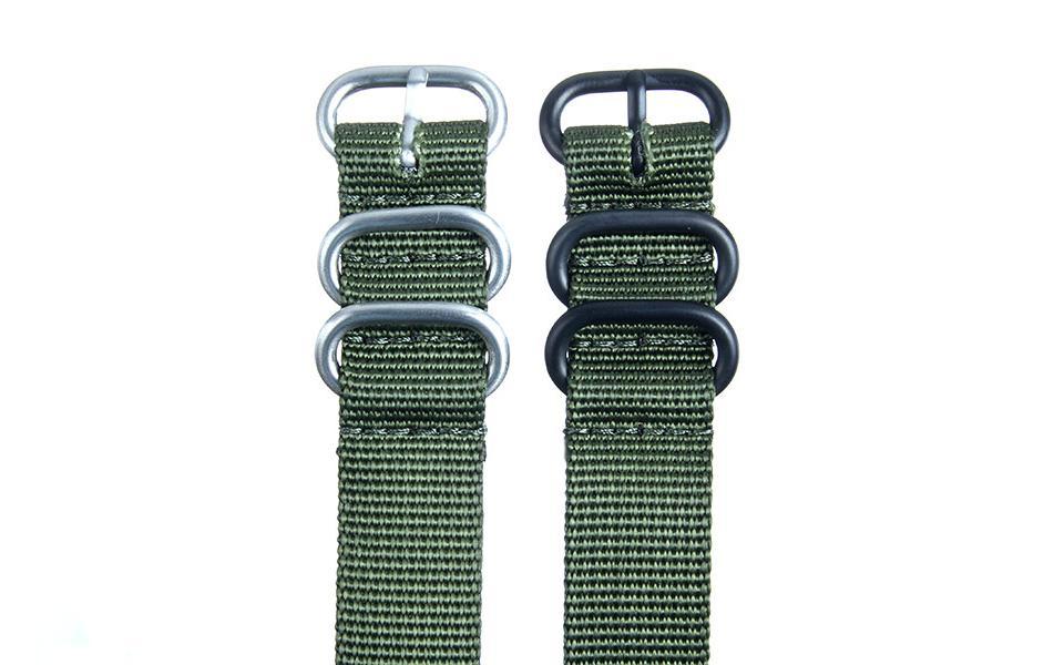 Olive HD NATO - 18mm Ballistic Nylon