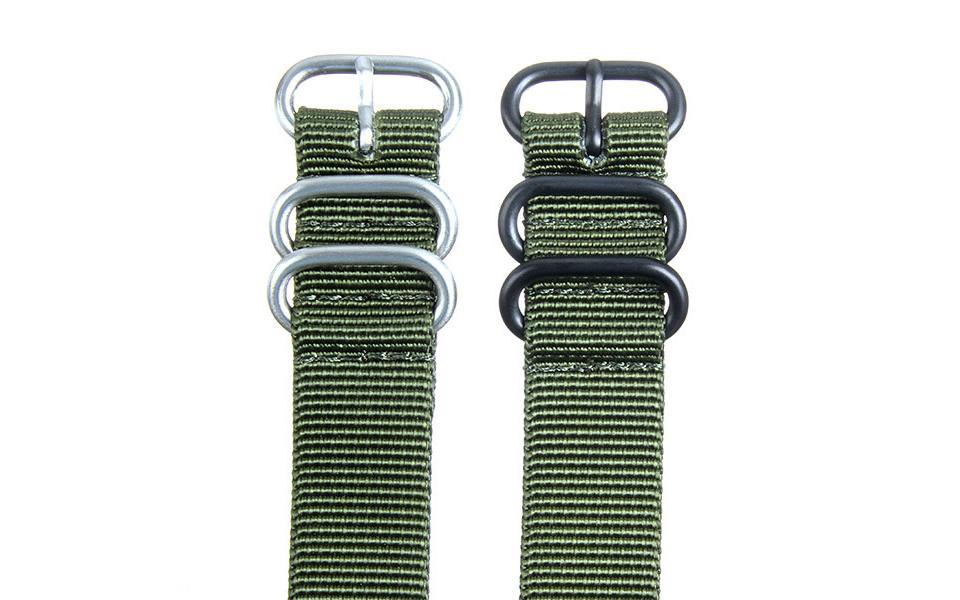 Olive HD NATO - 20mm Ballistic Nylon