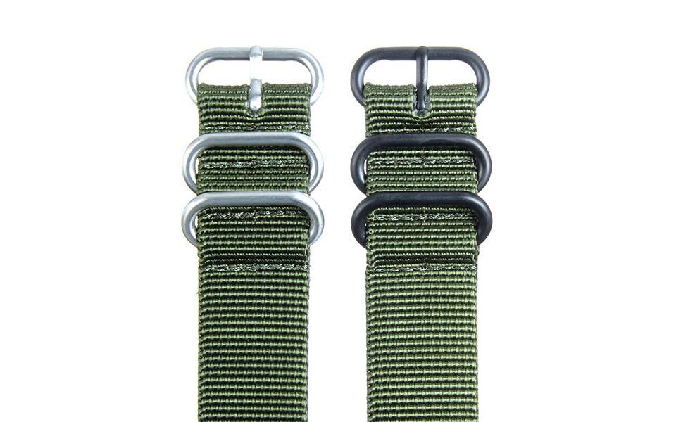 Olive HD NATO - 22mm Ballistic Nylon