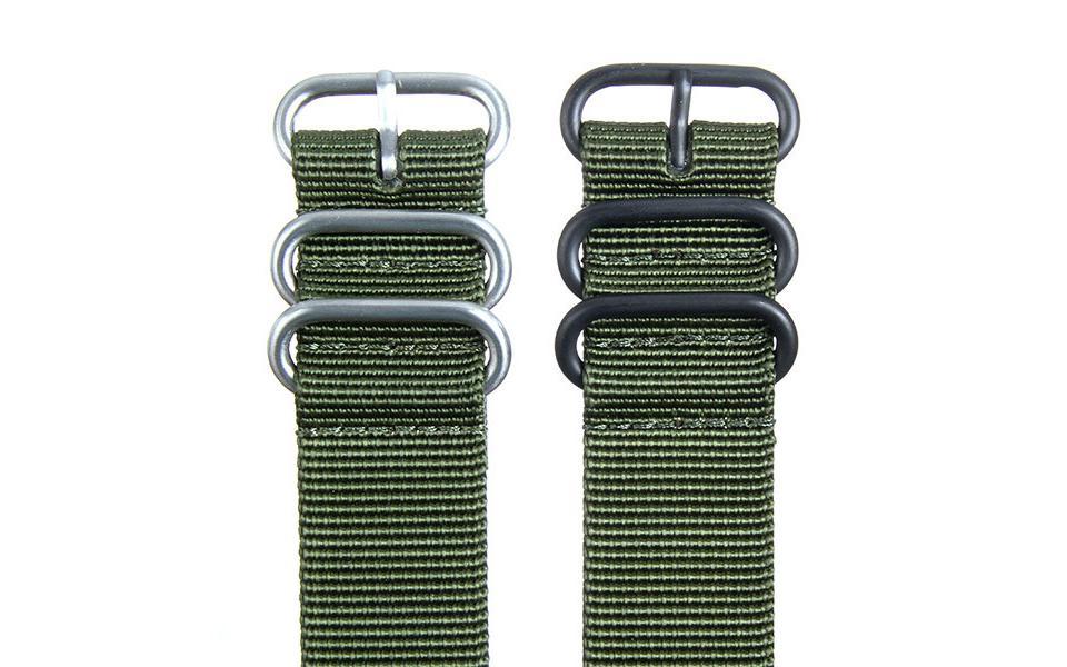 Olive HD NATO - 24mm Ballistic Nylon