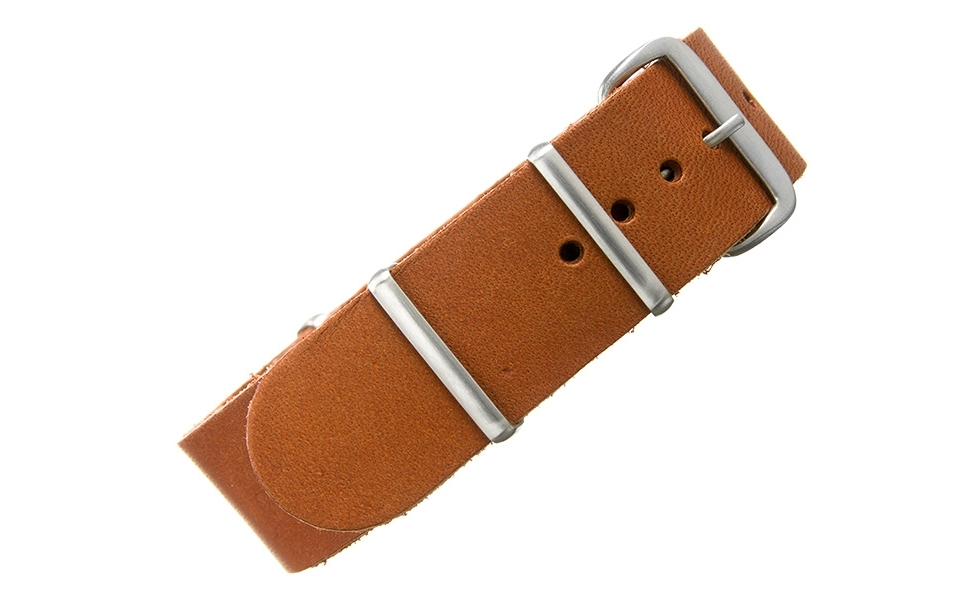 Rouille Bridle Leather NATO - 22mm