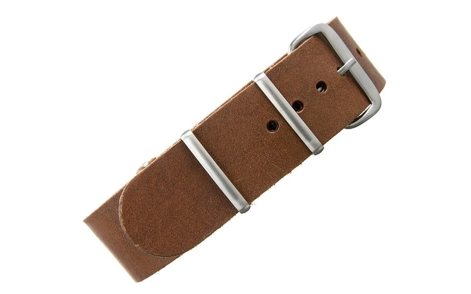 Oak Bridle Leather NATO - 18mm