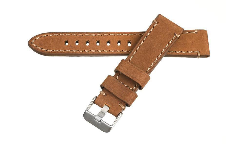 Marina - 20mm Brown Vintage