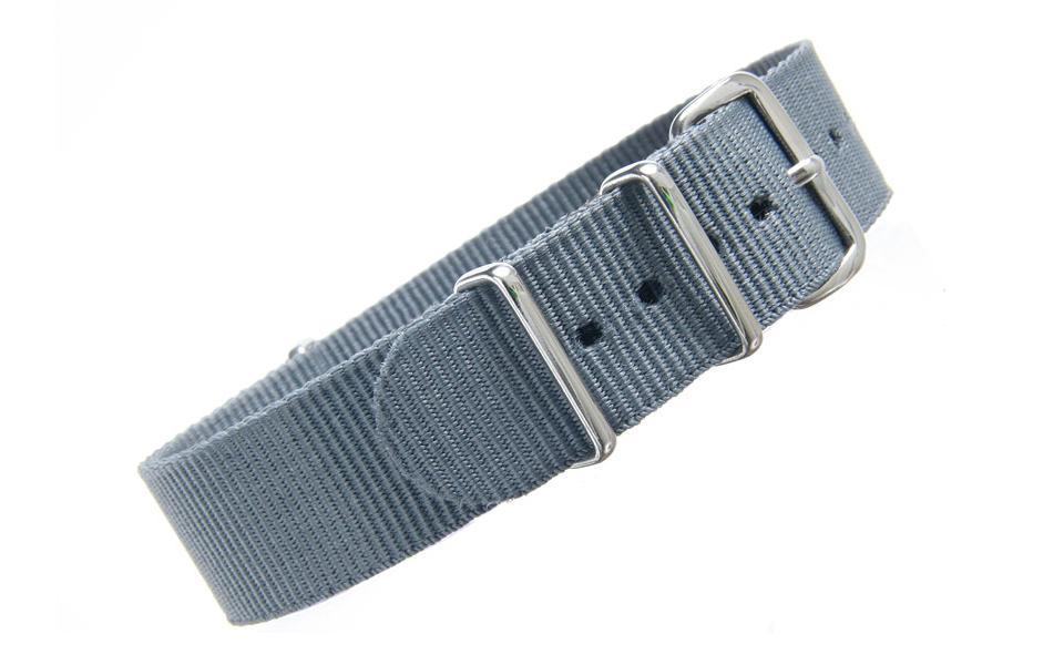 Grey NATO - 19mm