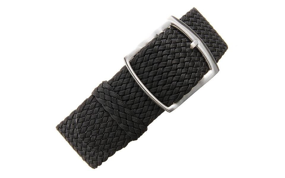 Black Braided Perlon