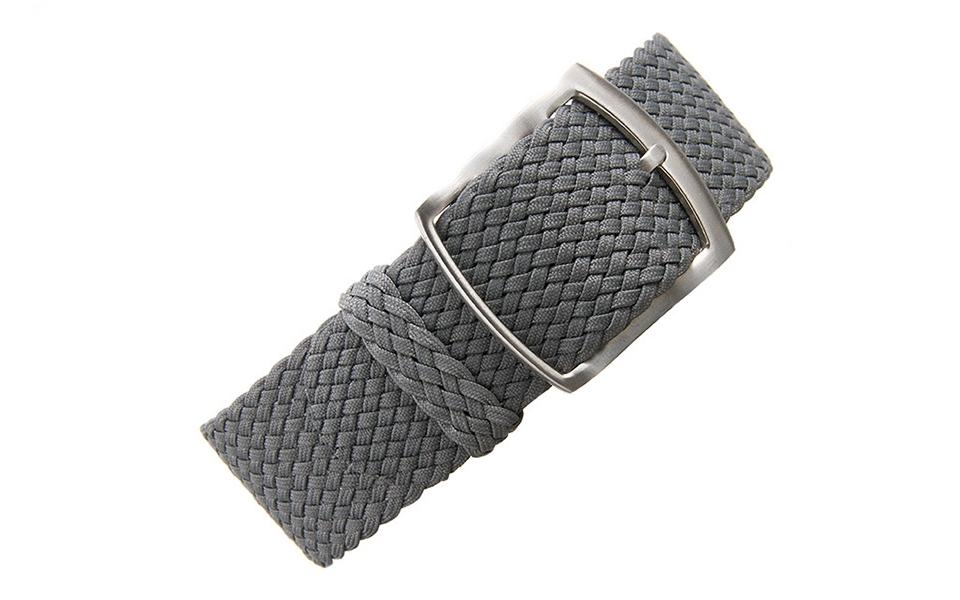 Grey Braided Perlon