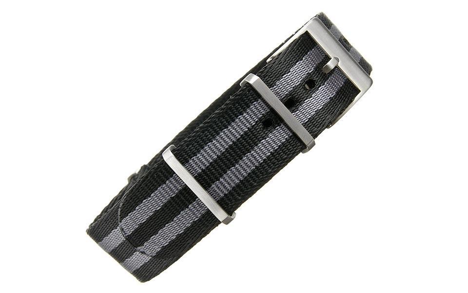 Supreme NATO - 19mm Black & Gunmetal
