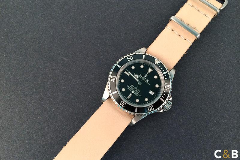 Veg Tan Watch Strap