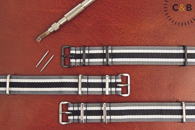 analog/shift Nylon Strap