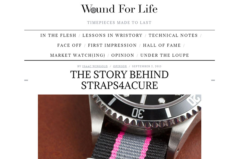 Wound for Life Feature