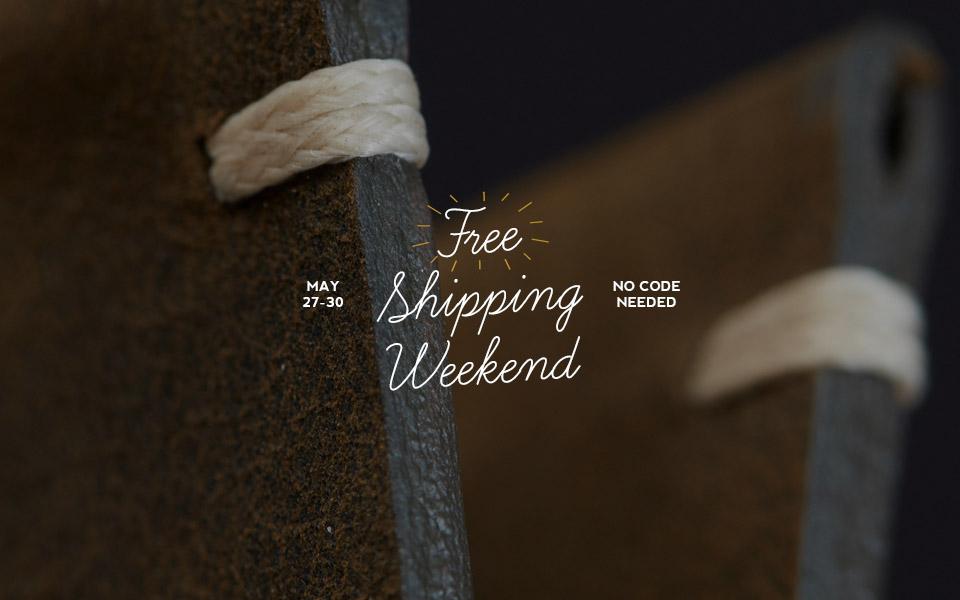 Free Shipping Weekend